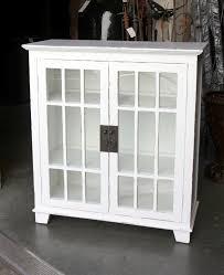 small glass door bookcase short bookshelf with glass doors