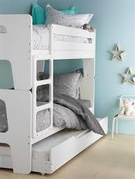 chambre lit jumeaux lits superposés dododuo séparables en lits jumeaux blanc blanc