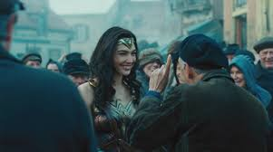 wonder woman new poster clips behind the scenes photo and video
