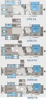 Aerolite Floor Plans by 11 Best 5th Wheel Floor Plan Images On Pinterest Rv Floor Plans