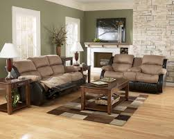 Home Sofa Set Price Presley Cocao Reclining Sofa Set Signature Design By Ashley Furniture