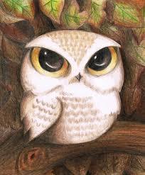 cute owl by lovelylittlesunshine on deviantart