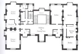 Floor Plans For A Mansion by The Gilded Age Era