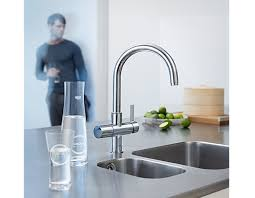 kitchen faucet water filter bleu kitchen faucet with integrated water filtration system