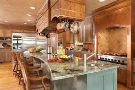 gourmet kitchen interior designers minneapolis lilu interiors curved granite counter top on custom island with custom hood above