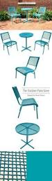 Turquoise Bistro Chair Hawthorne 3pc Bistro Set Turquoise Modern Casual Patio Furniture