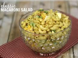 classic pasta salad classic macaroni salad it is a keeper