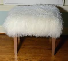 faux fur ottoman slipcover target stool 29013 interior decor