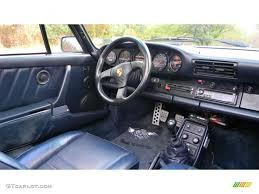 porsche turbo interior 1988 porsche 911 turbo cabriolet interior photo 38388755