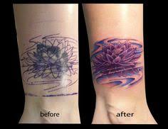 tattoo camo before and after pinterest cover up ocean tattoos cover up by mike hill flesh to