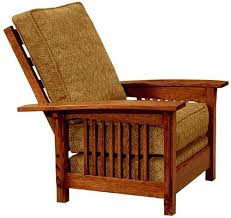 arts u0026 crafts mission style morris chair recliner