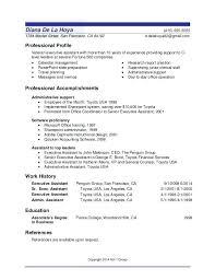 usa resume sle resume usa free resume exles by industry title