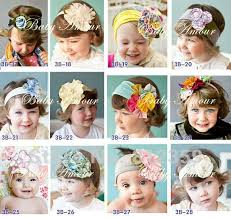 toddler hair accessories new baby headbands infant flower headband children hair
