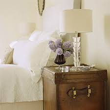 Trunk Bedside Table by Trunk Nightstand Contemporary Bedroom The Glitter Guide