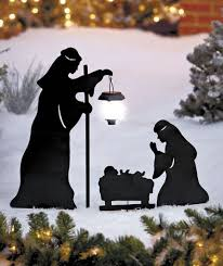 German Shepherd Christmas Yard Decorations by Best 25 Outdoor Nativity Scene Ideas On Pinterest Outdoor
