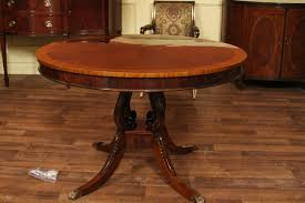 Antique Mahogany Dining Room Set Vintage Round Dining Table Dining Tables