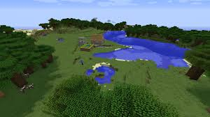 small 1 8 8 minecraft village seed with one farm house and