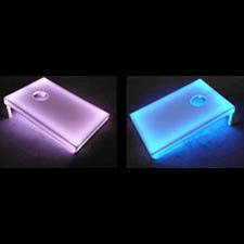 light up tailgate toss boards set of 2 lighted led boards