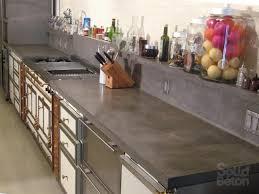 comptoir ciment cuisine surfaces de béton comptoir béton évier lavabo vanité