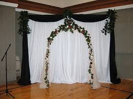 indoor wedding arch backdrops and arches