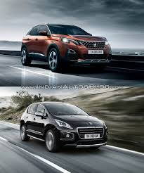 new peugeot sedan 2016 peugeot 3008 vs 2014 peugeot 3008 in images