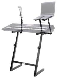 classic cantabile kws 100 keyboard stand with microphone stand and