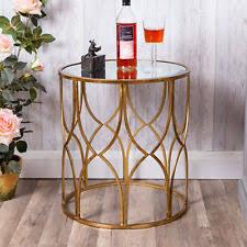 vintage gold side table gold side table ebay