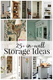 remodelaholic 25 brilliant in wall storage ideas for every room