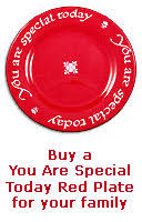 you are special today plate the plate stories