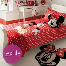 Minnie Mouse Single Duvet Set Minnie Mouse Bedding Set Queen Size Tokida For
