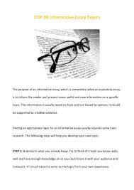informative essay sample top 20 informative essay topics
