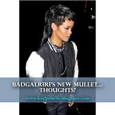 fashion forward hair up do kurlee belle rihanna s new mullet what do we think