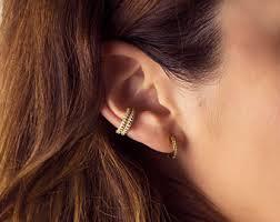 unpierced ears non pierced ear cuff etsy