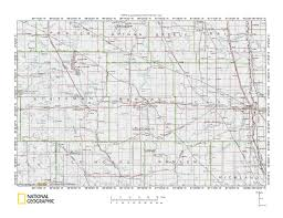 Nd Map James River Sheyenne River Drainage Divide Area Landform Origins