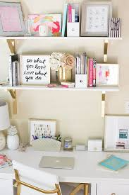 Chic Office Desk Chic Office Decor Crafts Home