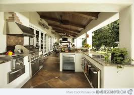 home outdoor kitchen design 15 awesome contemporary outdoor kitchen designs home design lover