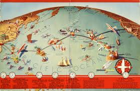 United Route Map Design Is Fine History Is Mine U2014 J P Wittlig Route Map 1937