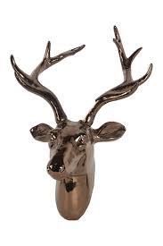 privilege home decor copper ceramic deer head nordstrom rack