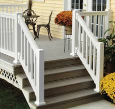Stairway Banisters And Railings Quickrail Synthetic Railing System