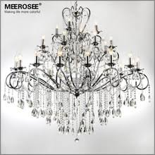 Iron Chandelier With Crystals Popular Wrought Iron Crystal Chandelier Buy Cheap Wrought Iron