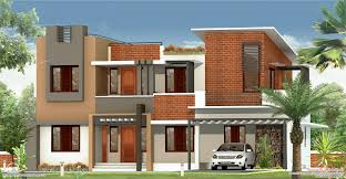 2226 sq feet flat roof villa house design plans
