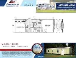 mobile homes for less fleetwood eagle 14401x 1 bed 1 bath mobile home for sale