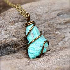 real turquoise stone necklace images Best rough turquoise stones products on wanelo jpg