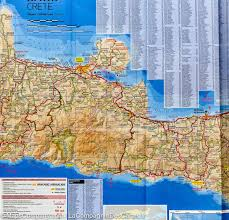Map Of Crete Greece by Map Of Crete Greece Terrain Cartography U2013 Mapscompany