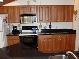 reface boring cabinets with wallpaper refinishing kitchen
