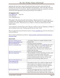 Post Resume On Job Sites by Job Search Rules Of The Road