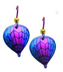 niobium earrings lindarae jewelry niobium hot air balloon earrings