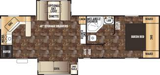 5th wheel floor plans forest river rv u0027s for sale in louisiana