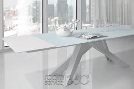 Glass Dining Room Table With Extension Brucallcom - Glass dining room table with extension