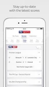 Sky Sports Live Desk Sky Sports Score Centre On The App Store
